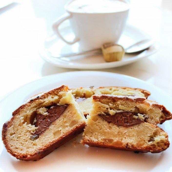 Kaffee und Kuchen in der Viba Erlebnis-Confiserie Dresden