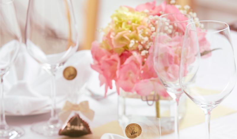 Hochzeitsmesse-Tisch