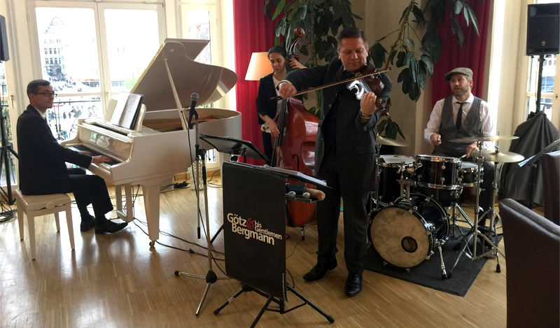Tanztee bei Viba mit Götz Bergmann Quartett